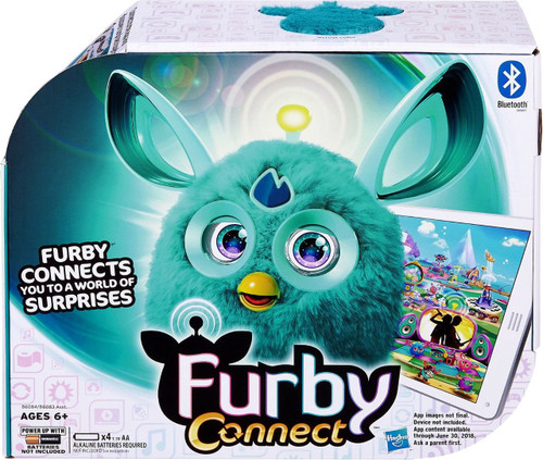 Hasbro Furby Connect Teal Figure