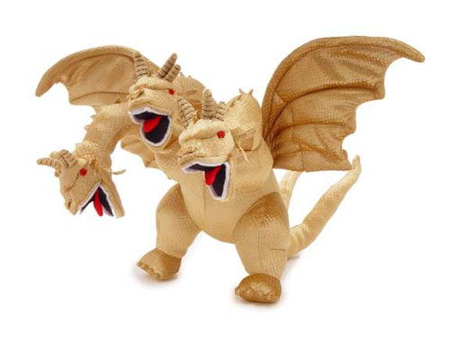 Toy Vault Godzilla King Ghidorah Plush with Sound