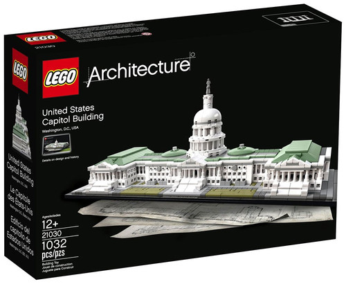 Lego Architecture United States Capitol Building Set #21030