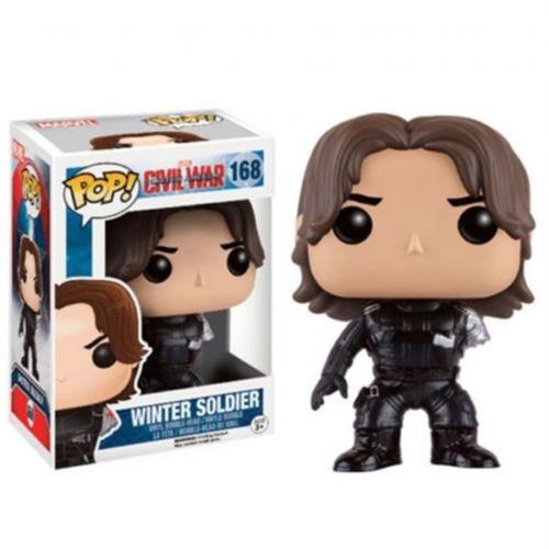 FUNKO INC. Civil War Funko POP Marvel Winter Soldier Excl...
