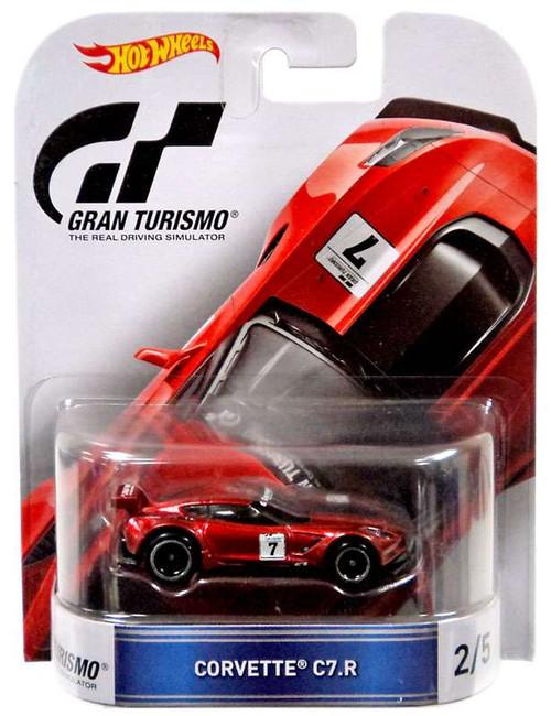 Hot Wheels Gran Turismo Corvette C7.R Diecast Vehicle #2/5