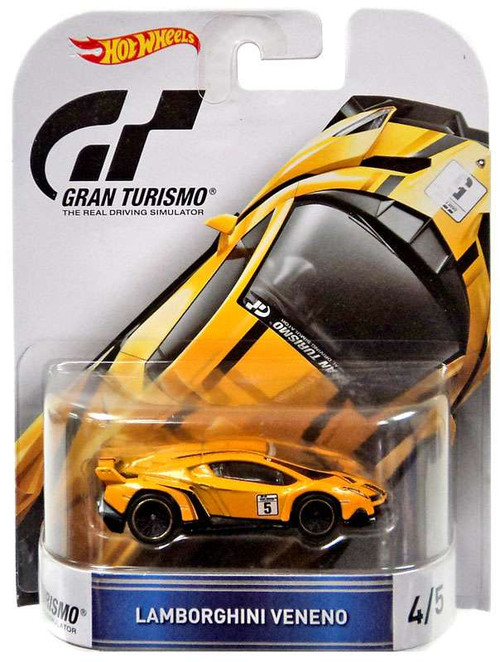 Hot Wheels Gran Turismo Lamborghini Veneno Diecast Vehicl...