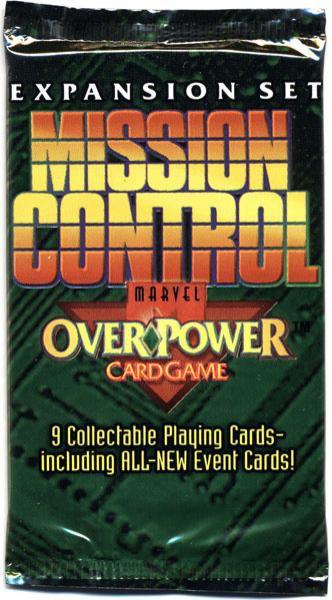 Fleer OverPower Card Game Base Set Marvel Mission Control...