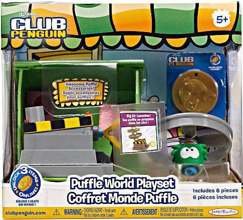Jakks Club Penguin Puffle World Big Air Launcher 1-Inch P...