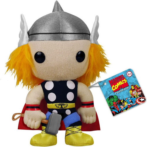 FUNKO INC. Marvel Funko 5 Inch Plushies Thor Plush