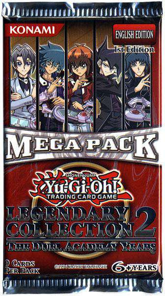 Konami YuGiOh Legendary Collection 2 Booster Pack
