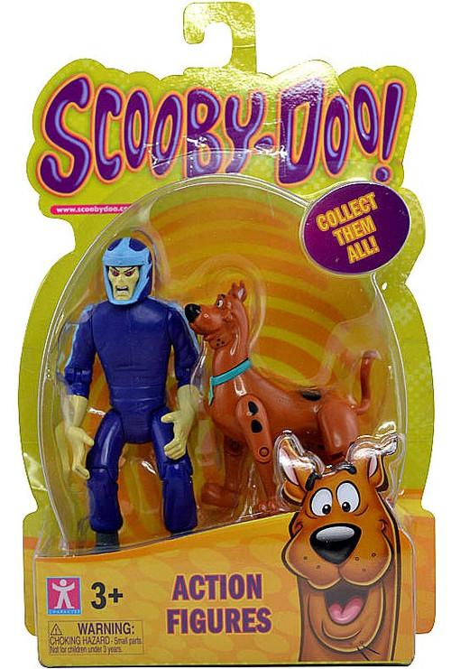 Scooby Doo Scooby & Phantom Racer Action Figure 2-Pack