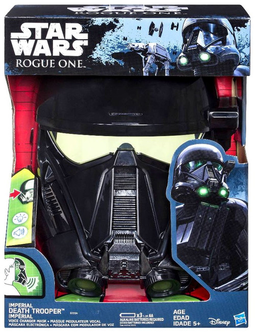 Star Wars Rogue One Imperial Death Trooper Voice Changing...