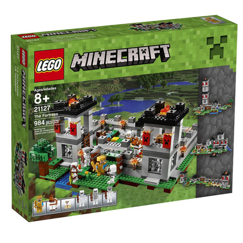 Lego Minecraft The Fortress Set #21127