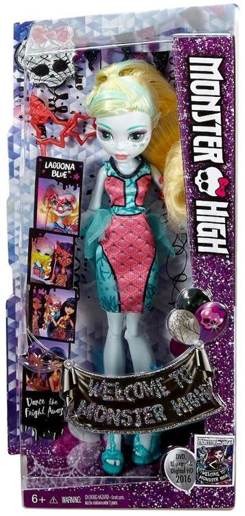 Recaro Welcome to Monster High Lagoona Blue Doll