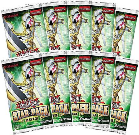 Konami YuGiOh Star Pack 2013 Booster Packs [Unlimited Edition]
