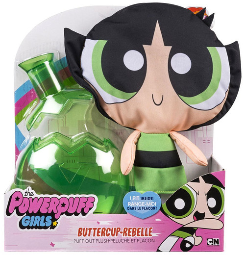 Spin Master The Powerpuff Girls Buttercup Puff Out Plush