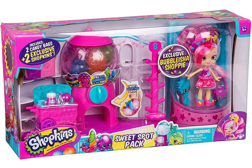 Shopkins Shoppies Sweet Spot Pack Exclusive Gumball Plays...
