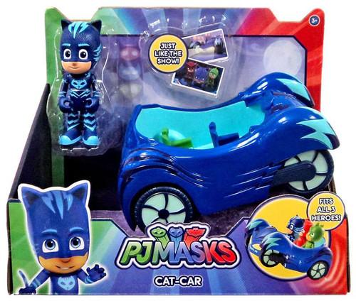 disney junior pj masks cat car vehicle figure just play toywiz. Black Bedroom Furniture Sets. Home Design Ideas