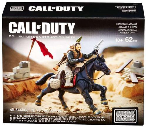Mega Bloks Call of Duty Horseback Assault Set #25424 [Dam...