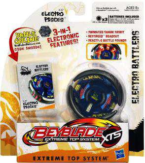 Beyblade XTS Electro Battlers Electro Pisces Single Pack ...