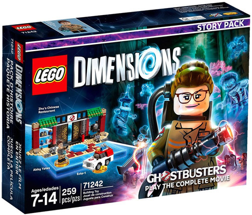 Lego Dimensions Ghostbusters Story Pack #71242