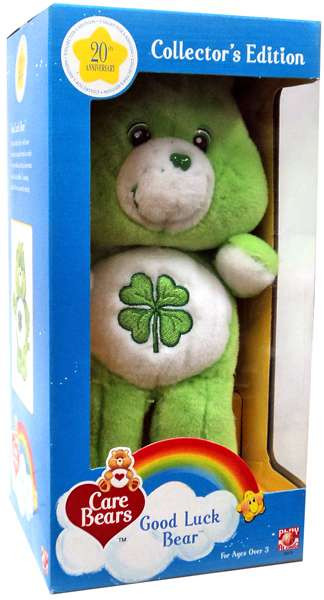 Care Bears 20th Anniversary Collector's Edition Good Luck...