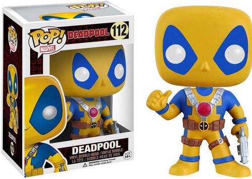 Funko POP! Marvel Deadpool Exclusive Vinyl Bobble Head [Y...