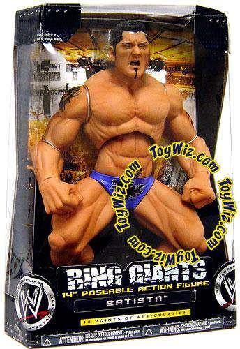 WWE Wrestling Ring Giants Series 5 Batista Action Figure ...