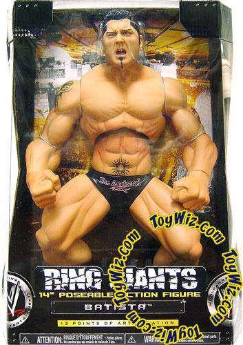 WWE Wrestling Ring Giants Series 7 Batista Action Figure ...