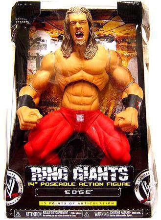 WWE Wrestling Ring Giants Series 8 Edge Action Figure [Da...