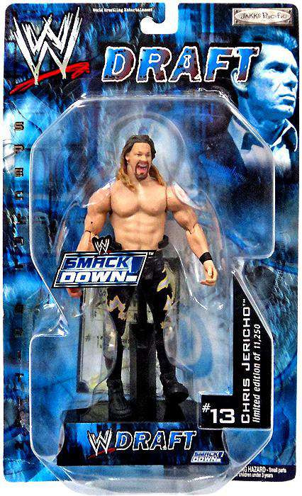 WWE Wrestling Smackdown Draft Chris Jericho Action Figure...