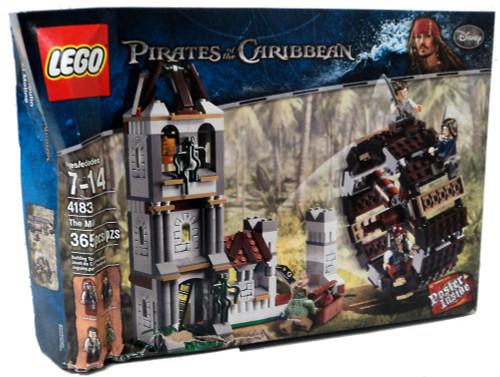LEGO Pirates of the Caribbean The Mill Set #4183 [Damaged...