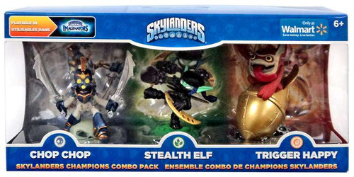 Activision Skylanders Imaginators Champions Combo Pack (chop Chop Stealth Elf Trigger Happy