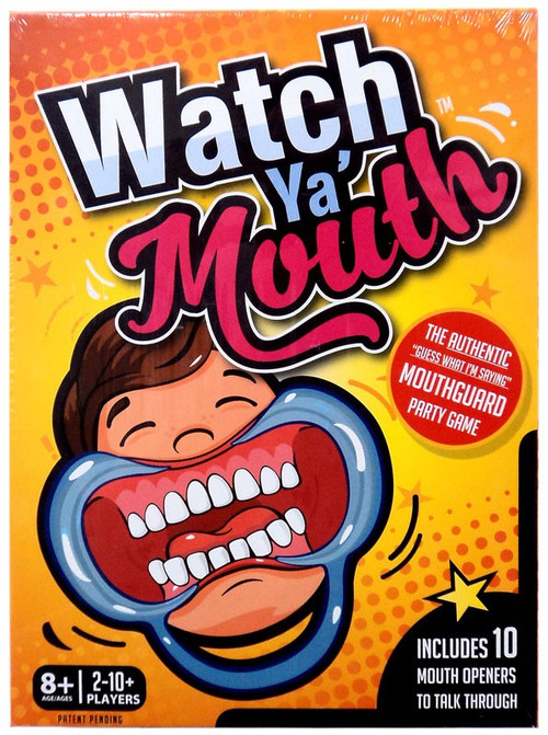 Watch Ya Mouth Board Game