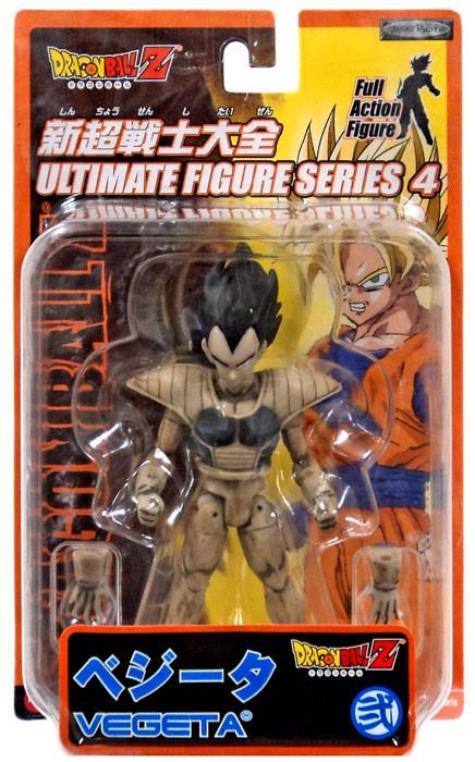 JAKKS Dragon Ball Z Ultimate Figure Series 4 Vegeta Actio...