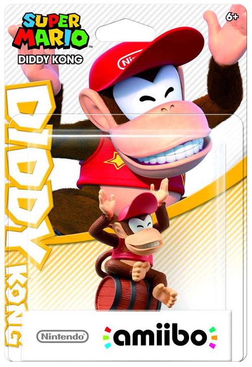 Nintendo Super Mario Amiibo Diddy Kong Mini Figure