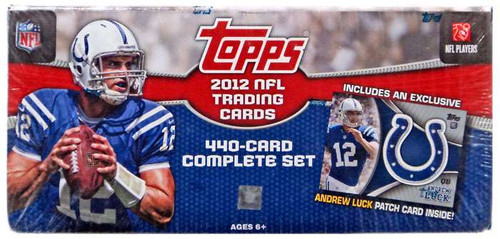 NFL 2012 Topps Football Cards Complete Set Trading Card B...