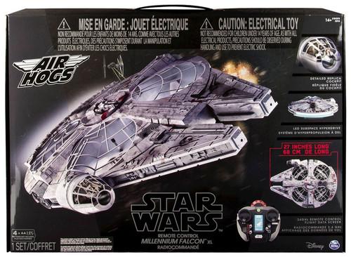 Spin Master Star Wars Air Hogs Millennium Falcon XL Remot...