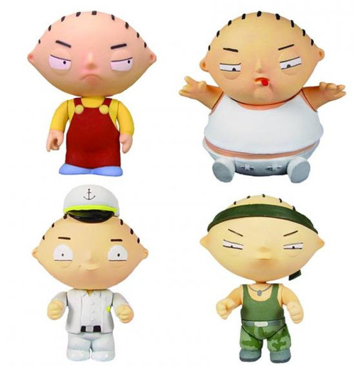 Family Guy Toys Toywiz : Family guy stewie griffin action figure set mezco toyz