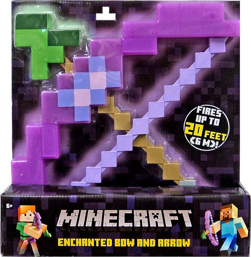 Mattel Minecraft Enchanted Bow & Arrow Roleplay Toy