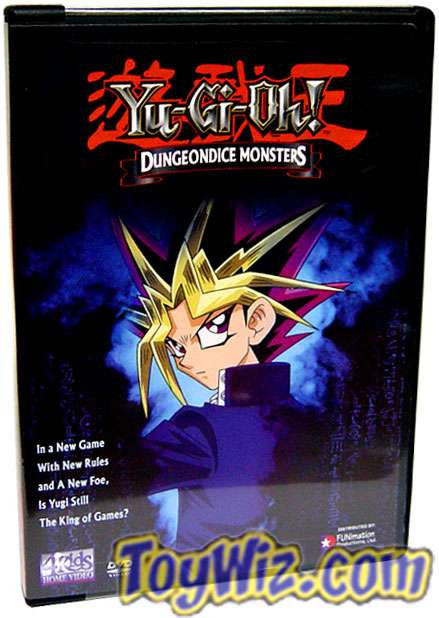 YuGiOh American Dungeon Dice Monsters DVD [Parts 1-4]