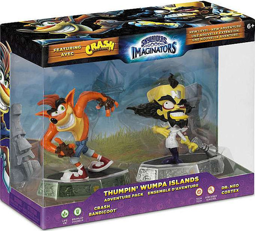 Skylanders Imaginators Thumpin Wumpa Islands Adventure ... Crash Bandicoot Ps3 Walmart