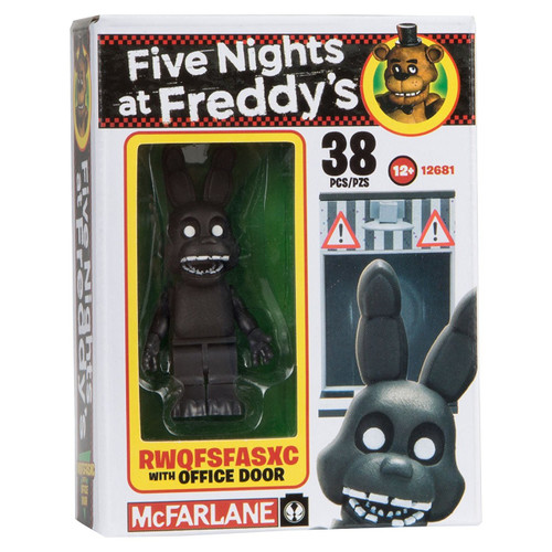 Mcfarlane Toys Five Nights at Freddy's RWQFSFASXC with Of...