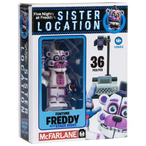 Mcfarlane Toys Five Nights At Freddys Spotlight Stage Left