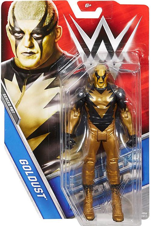 wwe wrestling series 67 goldust 6 action figure mattel toys