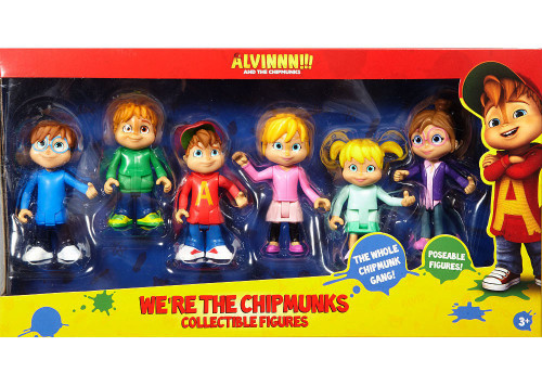 Mattel Fisher Price Alvin & the Chipmunks We're the Chipm...