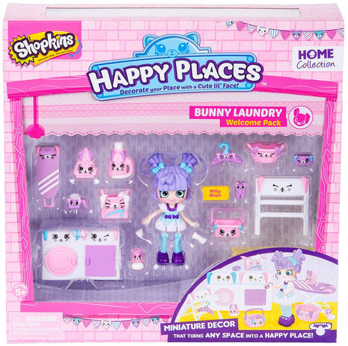 Shopkins Happy Places Series 2 Bunny Laundry Welcome Pack