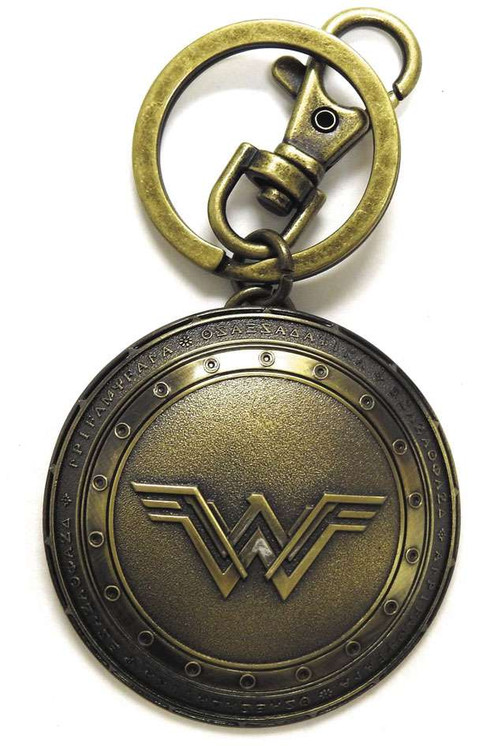 Monogram DC Batman V Superman Wonder Woman's Shield Pewte...