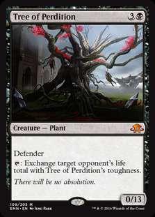 MtG Eldritch Moon Mythic Rare Foil Tree of Perdition #109