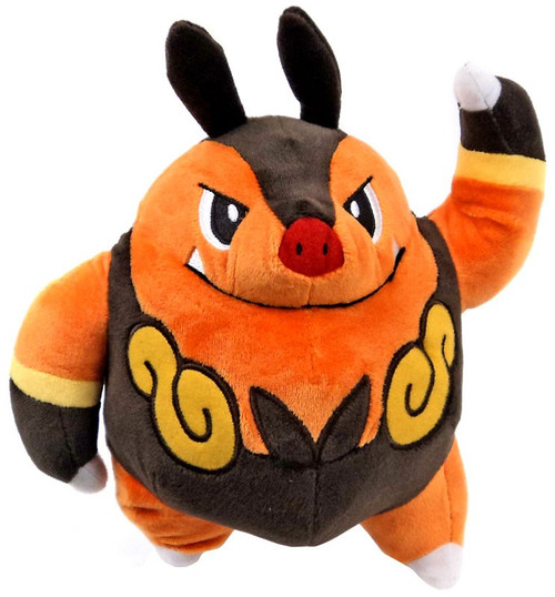 Nintendo Pokemon Pignite Exclusive 9-Inch Poke Plush [Lar...