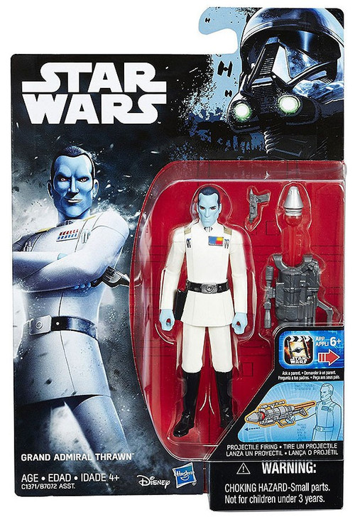 Star Wars Rebels Grand Admiral Thrawn 3 75 Action Figure
