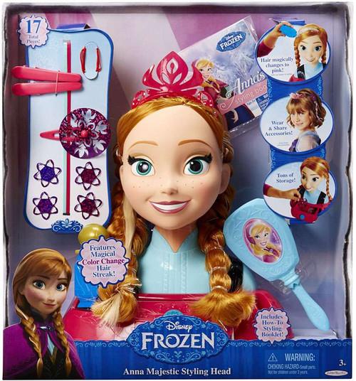 Disney Frozen Majestic Anna Styling Head [Damaged Package]
