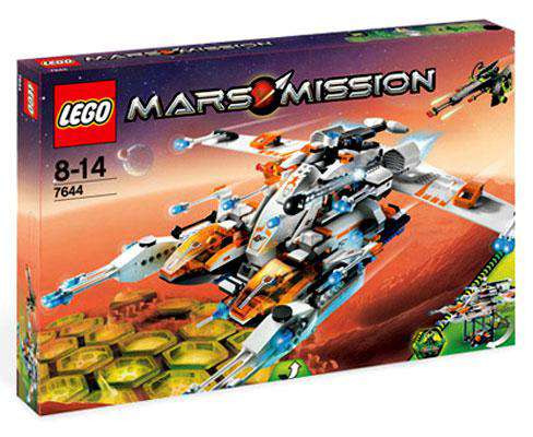 LEGO Mars Mission MX-81 Hypersonic Spacecraft Set #7644 [...