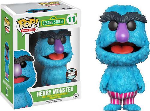 Funko Sesame Street Funko Pop Tv Herry Monster Exclusive